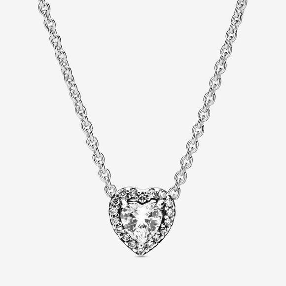 Pandora Jewelry - Elevated Heart Necklace